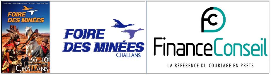 Logo de la foire et de Finance Conseil