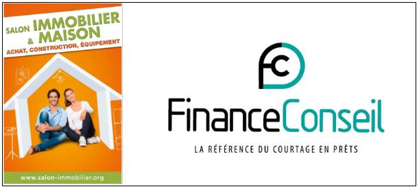 logo du salon et de Finance Conseil