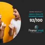 Index égalité homme femme Finance Conseil