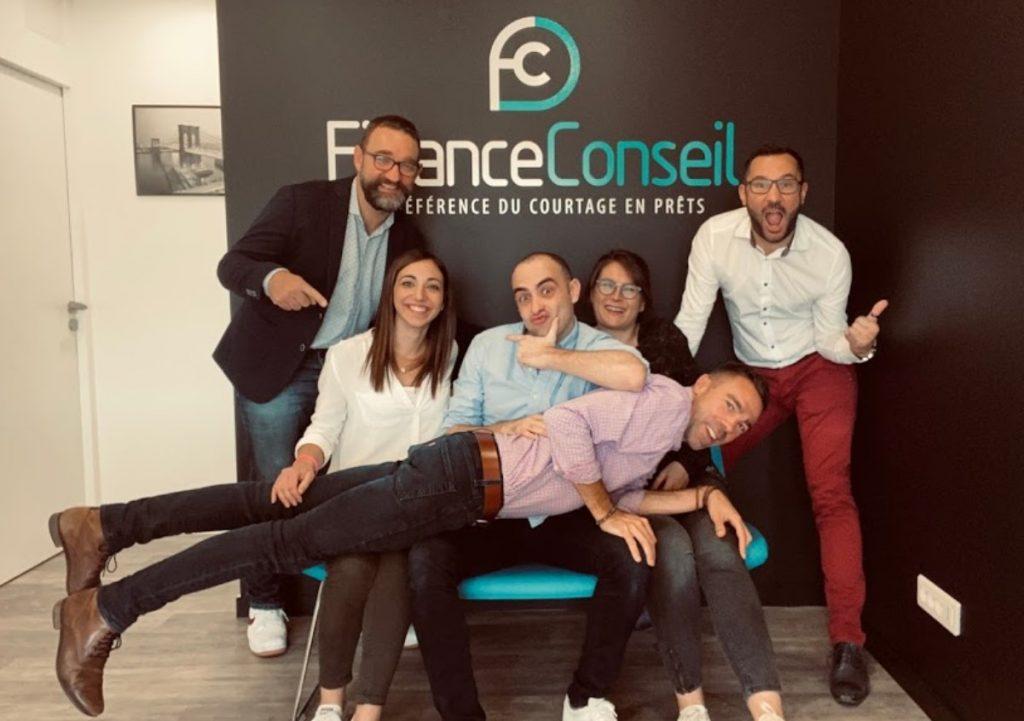 L'équipe des courtiers en prêt immobilier Finance Conseil Cholet